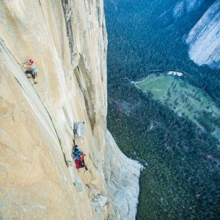 Emily Harrington en Golden gate al Capitan (Yosemite)  (Jon Glassberg)