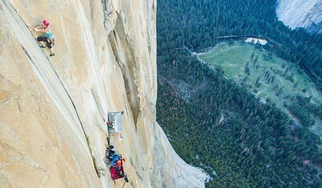 Emily Harrington en Golden gate al Capitan (Yosemite)  (Jon Glassberg)