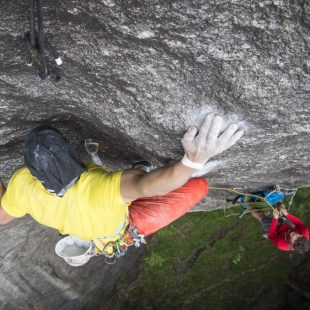 Nueva vía larga de 8b/+ en Val di Mello