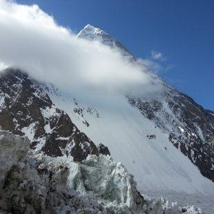 K2 (8.611 m) en primavera del 2014  (Radek Jaros)
