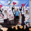 Podium del Campeonato de Europa de Velocidad 2015 en Chamonix  (@ghaugeard)