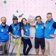 La selección española participante en la Paraclimbing Cup de Imst 2015 (Col. U. Carmona)