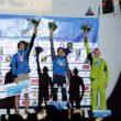 Podio masculino del Campeonato de Europa 2015 en Chamonix: Ramon Julián (1º)
