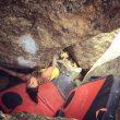Juliane Wurm escalando en Silvretta (Suiza) (julio 2015)  (Col. J. Wurm)