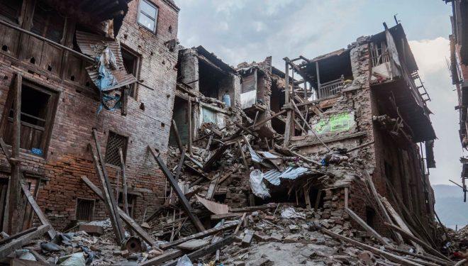Efectos del terremoto en Nepal. 2015  (©Ayuda Directa Himalaya)
