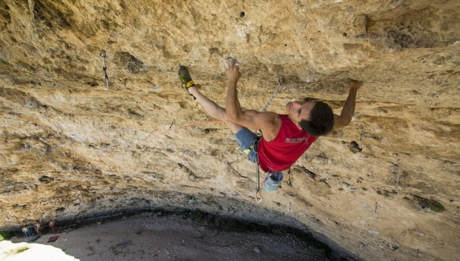 Javier Tamayo en Enzos party 9a de la Cueva del Arenal  (Carlos Padilla)