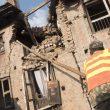 Estado en el que quedaron las casas en las aldeas de Nepal tras el terremoto que asoló el país el 25 abril 2015  (© Luis Miguel López Soriano)