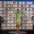 Podio femenino de la Copa del Mundo de Stavanger 2015: Mina Markovic (1ª)