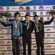 Podio masculino de la Copa del Mundo de Stavanger 2015: Gautier Supper (1º)