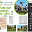 Artículo: Un viaje por el corazón de Asturias. Publicado en el Especial Cicloturismo en la revista Grandes Espacios nº 213. Septiempre 2015.  ()