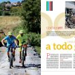 Artículo: Centro BTT a todo gas. Publicado en el Especial Cicloturismo en la revista Grandes Espacios nº 213. Septiempre 2015.  ()