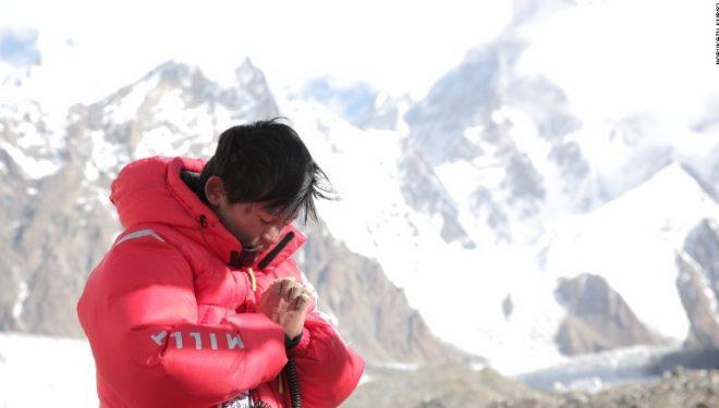 Nobukazu Kuriki en el Everest (otoño de 2015)  (Col. N. Kuriki)