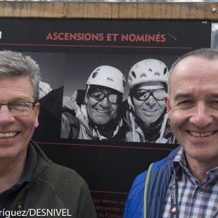 Los británicos Paul Ramsden y Mick Fowler