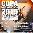 Cartel Copa de Andalucía de Escalada en Bloque 2015  ()