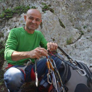 El escalador y equipador valenciano Txenxo Llí.  ()
