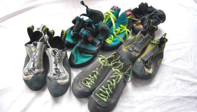 Diversos modelos de pies de gato antiguos y actuales  (Desnivelpress)