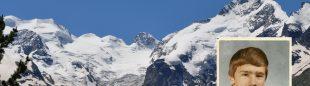 El alpinista y esquiador Gregory Barnes desaparecido en el Macizo del Bernina en 1980 (2015)  (Jekaternia Nikitina y archivo familiar)