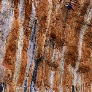 Iker Pou en Reikiavik energy 9a de la Serra de Tramuntana (Mallorca)  (Col. I. Pou)