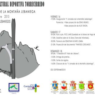 II Jornadas de la Montaña Lebaniega 2015. Programación ()