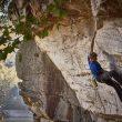 Alex Megos en Superpod 9a de New River Gorge (Estados Unidos). Octubre 2015  (Frank Kretschmann)