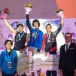Podio masculino de la Copa del Mundo de Wujiang 2015: Adam Ondra (1º)