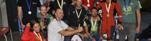 Todos los podios del Campeonato de España de Paraescalada 2015  (Isaac Fernández / Desnivel)