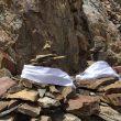 Sequoia Di Angelo ha enterrado los restos de su hermano y de su padre en el K2