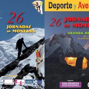 Cartel 26 edición Jornadas de Montaña y Aventura de Aranda de Duero 2015