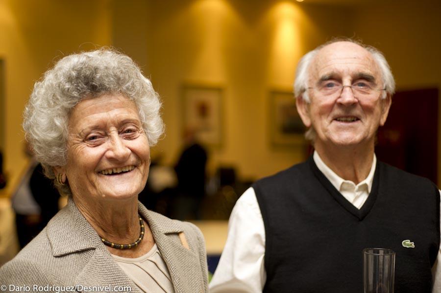 Elisabeth Verges y Josep Manuel Anglada  (Darío Rodríguez/Desnivel)