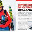 Detectores de víctimas de avalancha en la revista Desnivel 353 Especial Esquí 2015  ()