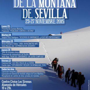 Cartel IV Semana de la Montaña de Sevilla 2015  ()