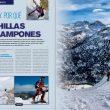 ¿Cuchillas o crampones? Artículo en la revista Desnivel 353 Especial Esquí 2015  ()
