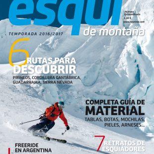 Portada de la revista Desnivel nº 365 Especial Esquí de Montaña 2016/17.  ()
