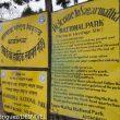 Entrada al Parque Nacional del Sagarmatha. Nepal  ()