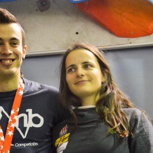 Eric López y Maud Ansade