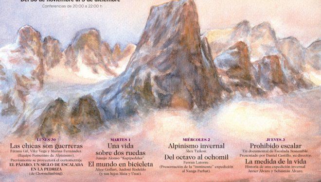 Cartel de las VII Jornadas de Montaña y Aventura de Madrid 2015 ()