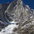 Línea de Light before wisdom a la cara este del Cerro Kishtwar  (Foto: M. Prezelj)