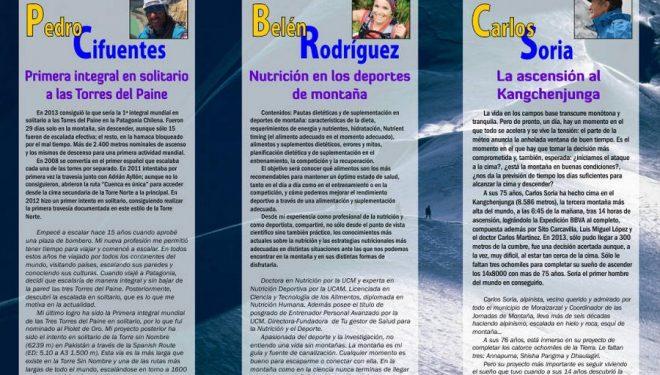 Tríptico X Edición de las Jornadas de Montaña de Moralzarzal 2015 ()