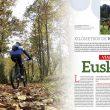 Artículo Vías Verdes de Euskadi. Kilómetros de naturaleza en la revista Grandes Espacios nº 215.  ()