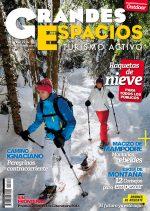 Portada de la revista Grandes Espacios nº 216. Especial Raquetas de nieve [WEB]  ()