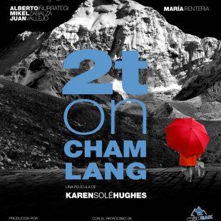 Cartel del estreno de la película 2T on Chamlang en el Mendi Film Festival de Bilbao 2015  ()