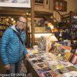 Simone Moro en la Librería Desnivel (4 diciembre 2015) dos días antes de partir a intentar el Nanga Parbat Invernal  (©Darío Rodríguez/DESNIVEL)