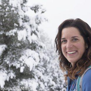 La alpinista italiana Tamara Lunger?