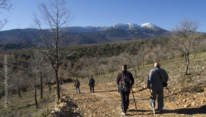 Caminando por la vaguada de Litiago a Lituenigo en la Ruta de los Bécquer.  (Asociación Cultural Olifante)