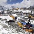 Estado del campo base Everest tras el terremoto que asoló Nepal (25 abril 2015)  (©Alan Arnette)