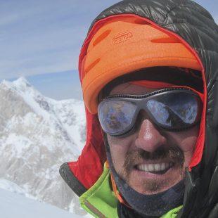 Carlos Suárez en el K2 durante el intento que realizo en julio-agosto 2015  (© Carlos Suárez)