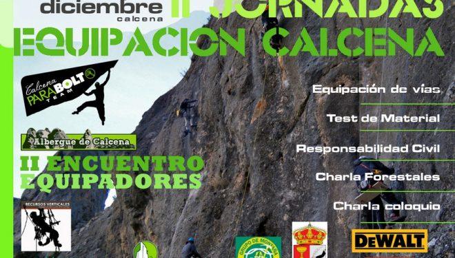 Cartel II Jornadas de Equipación Calcena 2015  ()