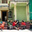 Kilian Jornet y Jordi Tossas en Nepal durante la grabación de Langtang  (SOML/ Irene Serrat)