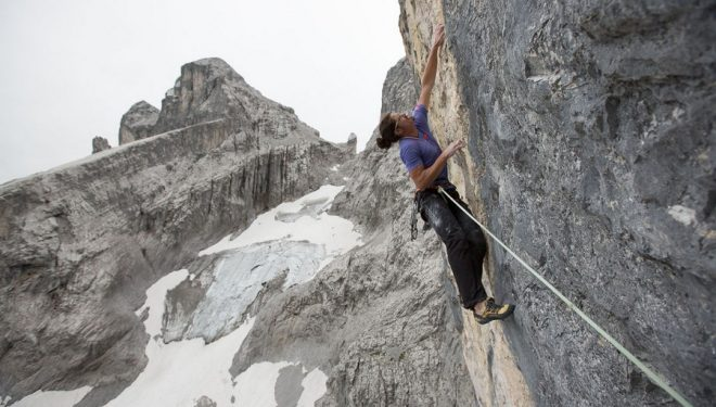 Alex Luger en The gift (350 m