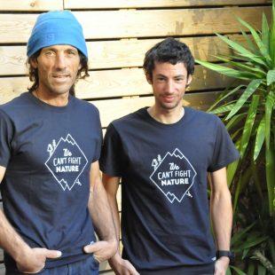 Jordi Tosas y Kilian Jornet  (Isaac Fernández / DESNIVEL)